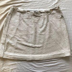 Rebecca minkoff sequin mini skirt